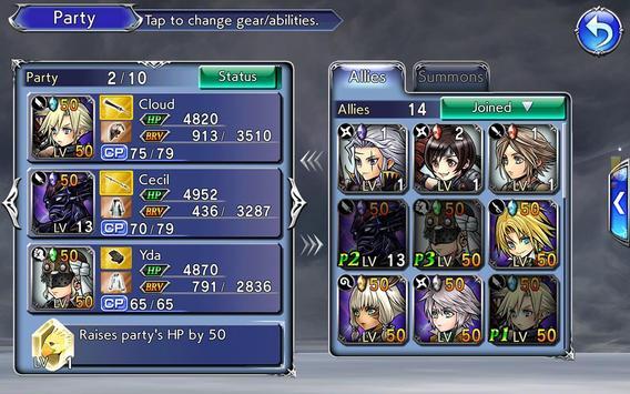 DISSIDIA FINAL FANTASY OPERA OMNIA screenshot 6