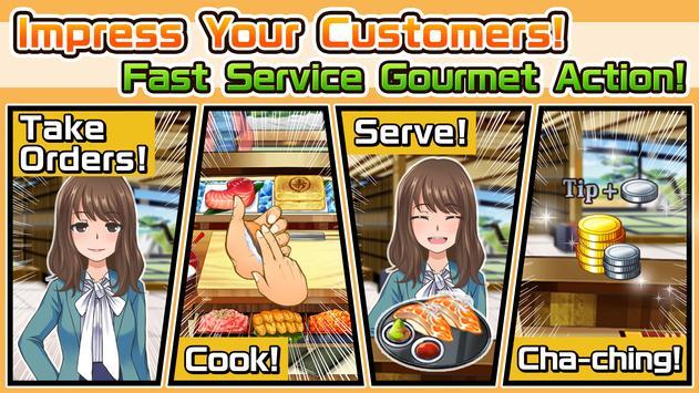 Meshi Quest: Five-star Kitchen apk screenshot