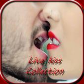 Live Kiss Gif Collection -Hot Kiss GIF icon