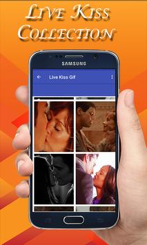 Live Kiss Gif Collection -Hot Kiss GIF screenshot 1