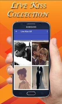 Live Kiss Gif Collection -Hot Kiss GIF screenshot 2
