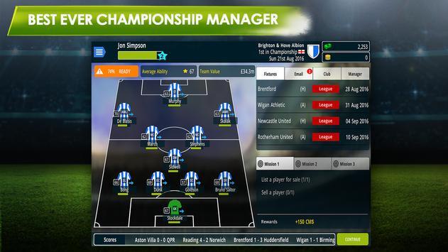 Championship Manager 17 screenshot 1