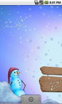 Santas Route Live Wallpaper screenshot 1