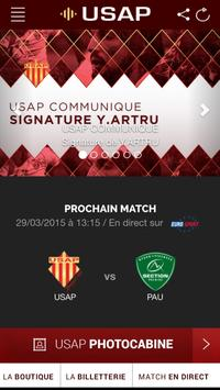 USAP Officiel screenshot 1