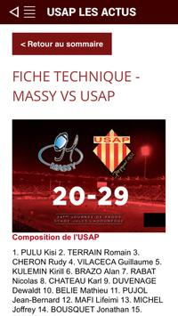 USAP Officiel screenshot 4
