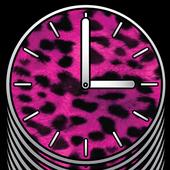 Big Pink Clocks - FREE icon