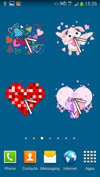 100 Heart Clocks screenshot 3