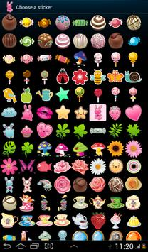 100 Cute Girly Stickers ^_^ apk screenshot