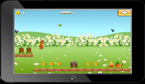 Squirelle Jungle Run apk screenshot