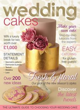 Wedding Cakes Magazine Poster