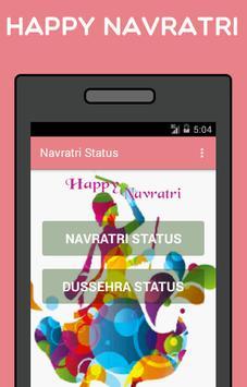 Navratri Status poster