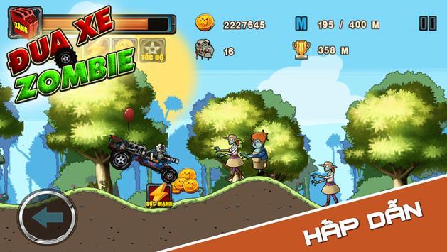 Dua Xe Zombie apk screenshot