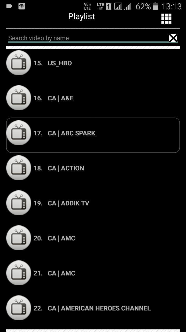 CableTV M3u Playlist for Android - APK Download