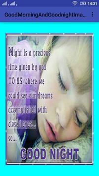 GoodMorningAndGoodNight Images apk screenshot