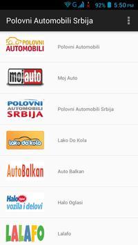 Polovni Automobili Srbija poster