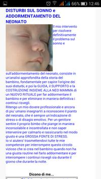 Sonno Neonato - Puericultrice apk screenshot