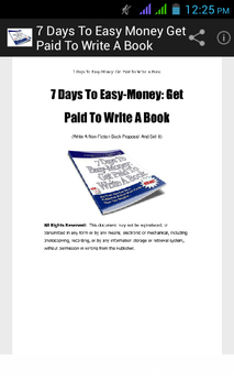 Get Paid To Write A book poster