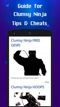Guide for Clumsy Ninja poster