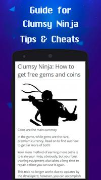 Guide for Clumsy Ninja apk screenshot