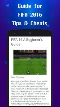 Tricks for FIFA 2016 apk screenshot