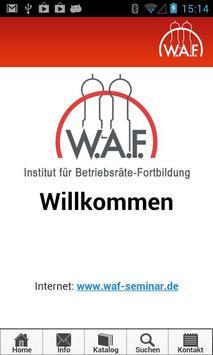 waf-seminar poster