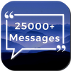25000 Messages, Quotes, Status, Wishes, Poems 图标