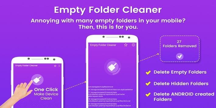 Empty Folder Cleaner poster