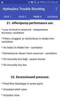 Hydraulic,Pneumatic Trouble Shoot,Fault and Repair screenshot 2