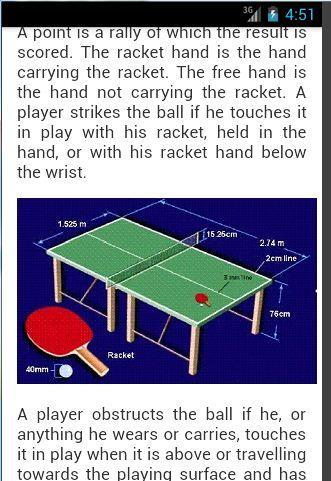 Table Tennis Rules For Android Apk Download