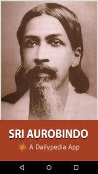 Sri Aurobindo Daily poster