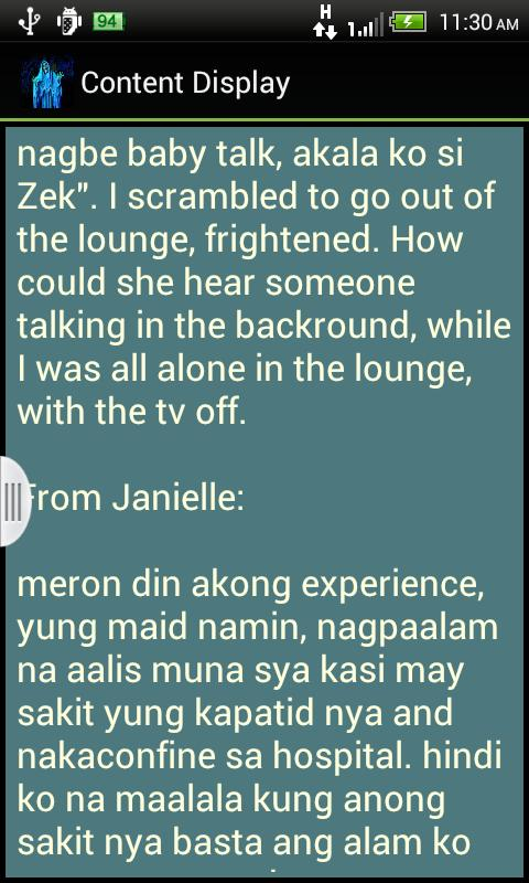Tagalog horror stories ebook.