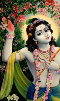 sri krishna live wallpaper poster