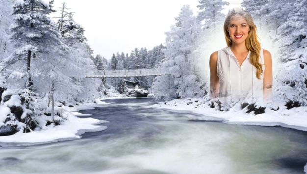 Snowfall Photo Frames screenshot 5