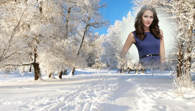 Snowfall Photo Frames screenshot 7