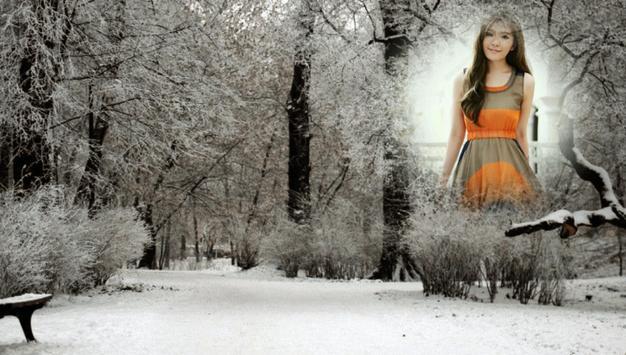 Snowfall Photo Frames screenshot 3