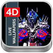 4D Robot Trans Live Wallpapers icon