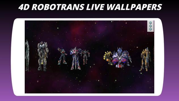 4D Robot Trans Live Wallpapers screenshot 5