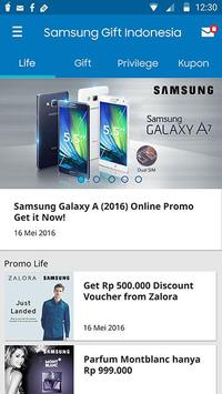 Samsung Gift Indonesia apk screenshot