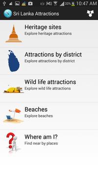 Sri Lanka Attractions poster