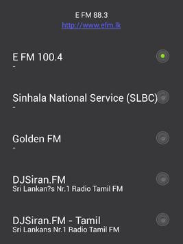 Sri Lanka Radio FM Free poster