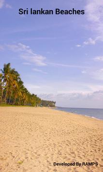 Sri Lanka Beaches poster