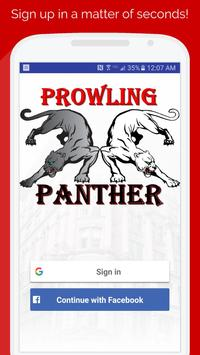 Prowling Panther: Apartment Hunting On The Ground (Unreleased) poster