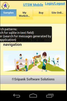 UTSW worksheet viewer apk screenshot