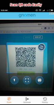 Smart QR and Barcode Scanner and Generator - Free screenshot 4