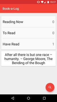 Book-a-Log apk screenshot