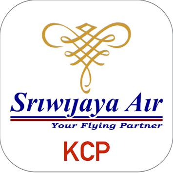 Sriwijaya Air - Flight Ticket poster