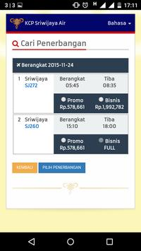 Sriwijaya Air - Flight Ticket apk screenshot