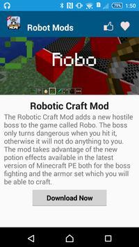 Robot MOD For MCPE screenshot 7