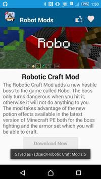 Robot MOD For MCPE screenshot 9