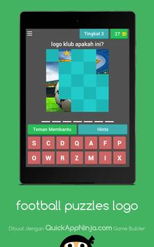football puzzle logo apk screenshot